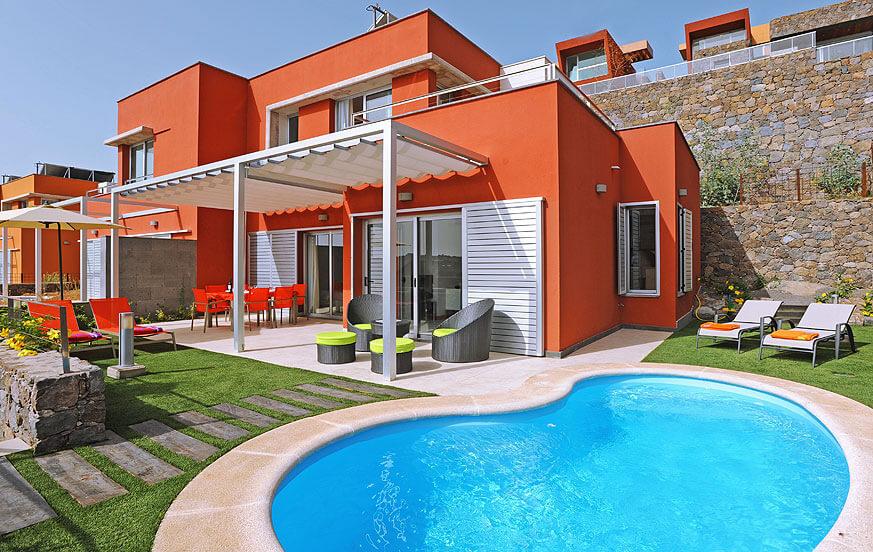 Schöne Villa mit 2 Schlafzimmern und beheizbarem Privatpool im Komplex Vista Golf mit Blick auf den nördlichen Golfplatz