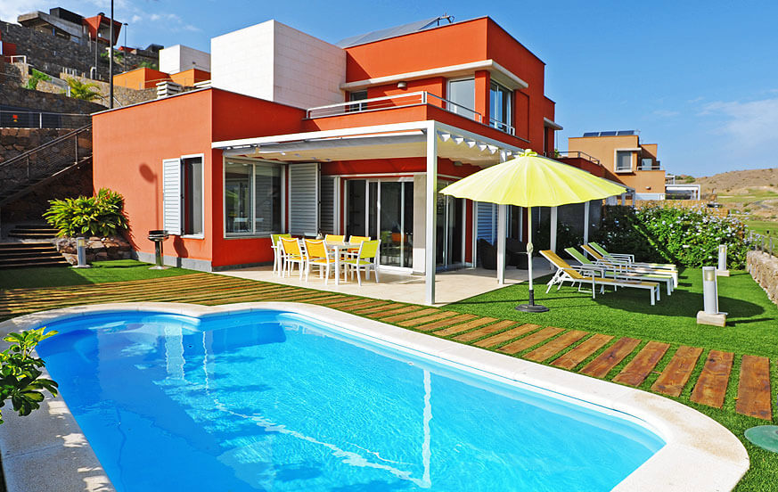 Villa salobre vista golf 21 in het salobre golf resort for Villas salobre golf